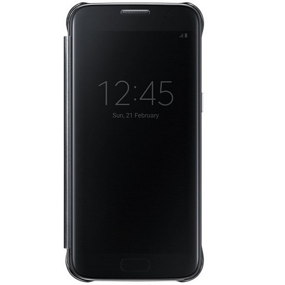 Clear View Case Black for Samsung Galaxy S7