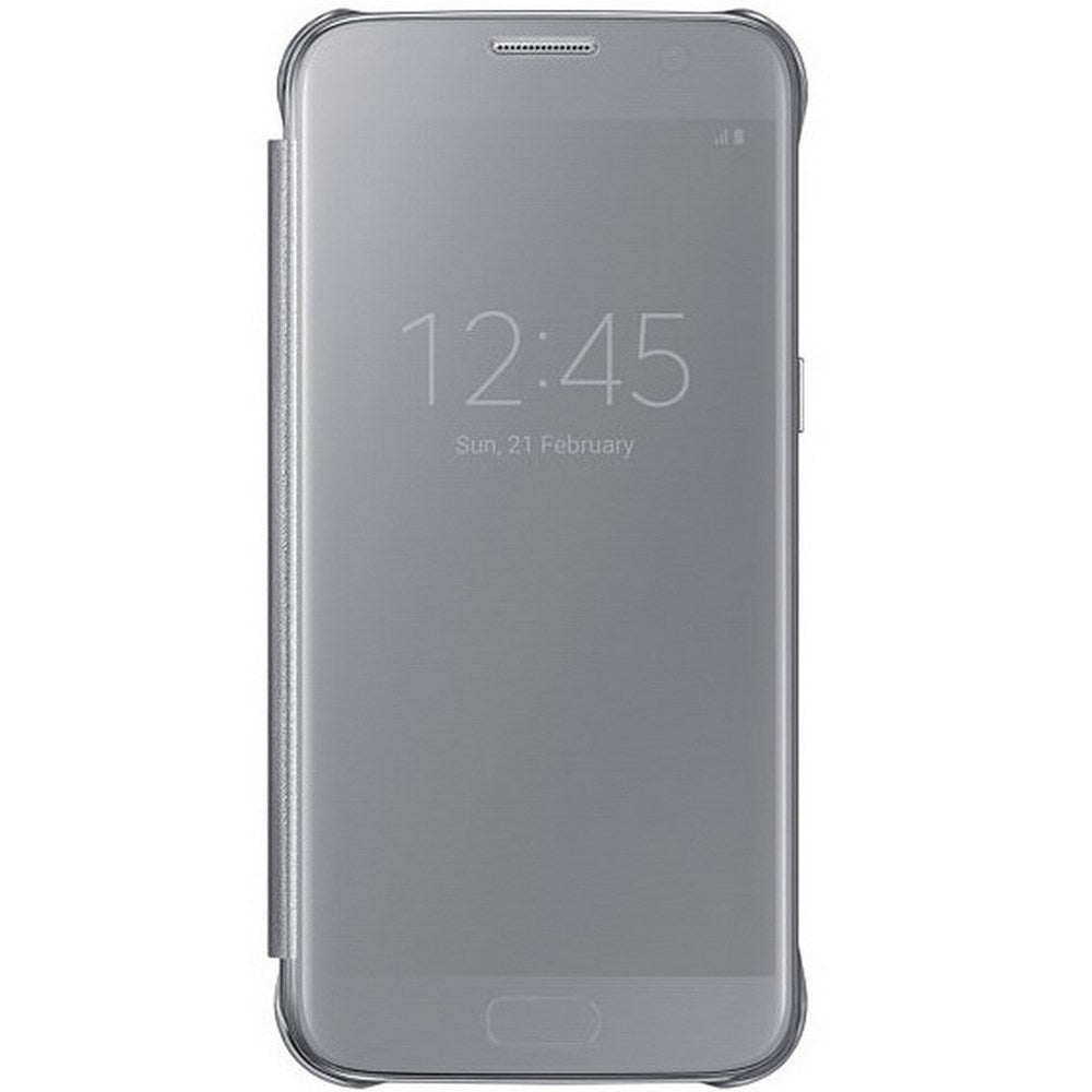 Clear View Case Silver for Samsung Galaxy S7