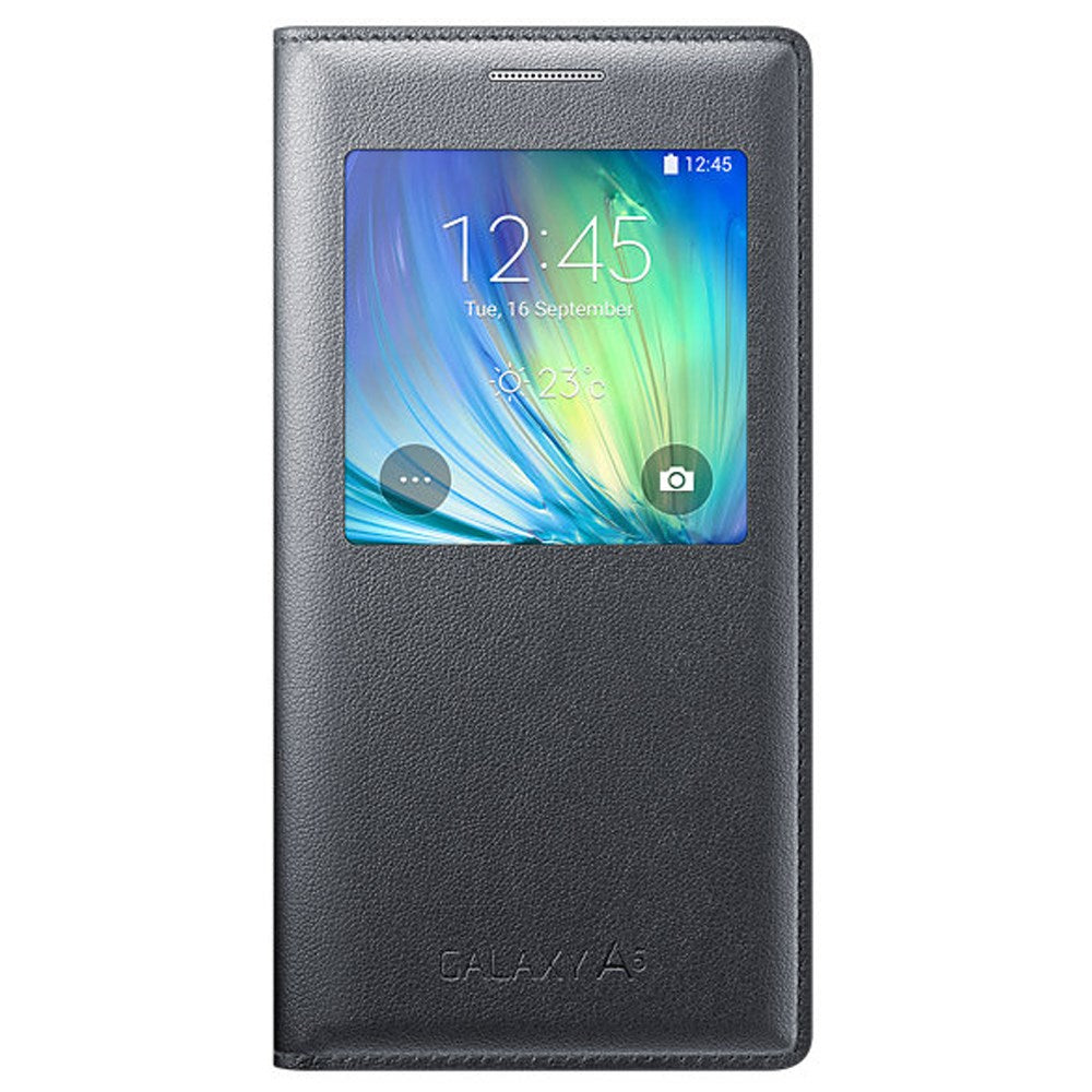 S-View Case for Samsung Galaxy A5 -Grey