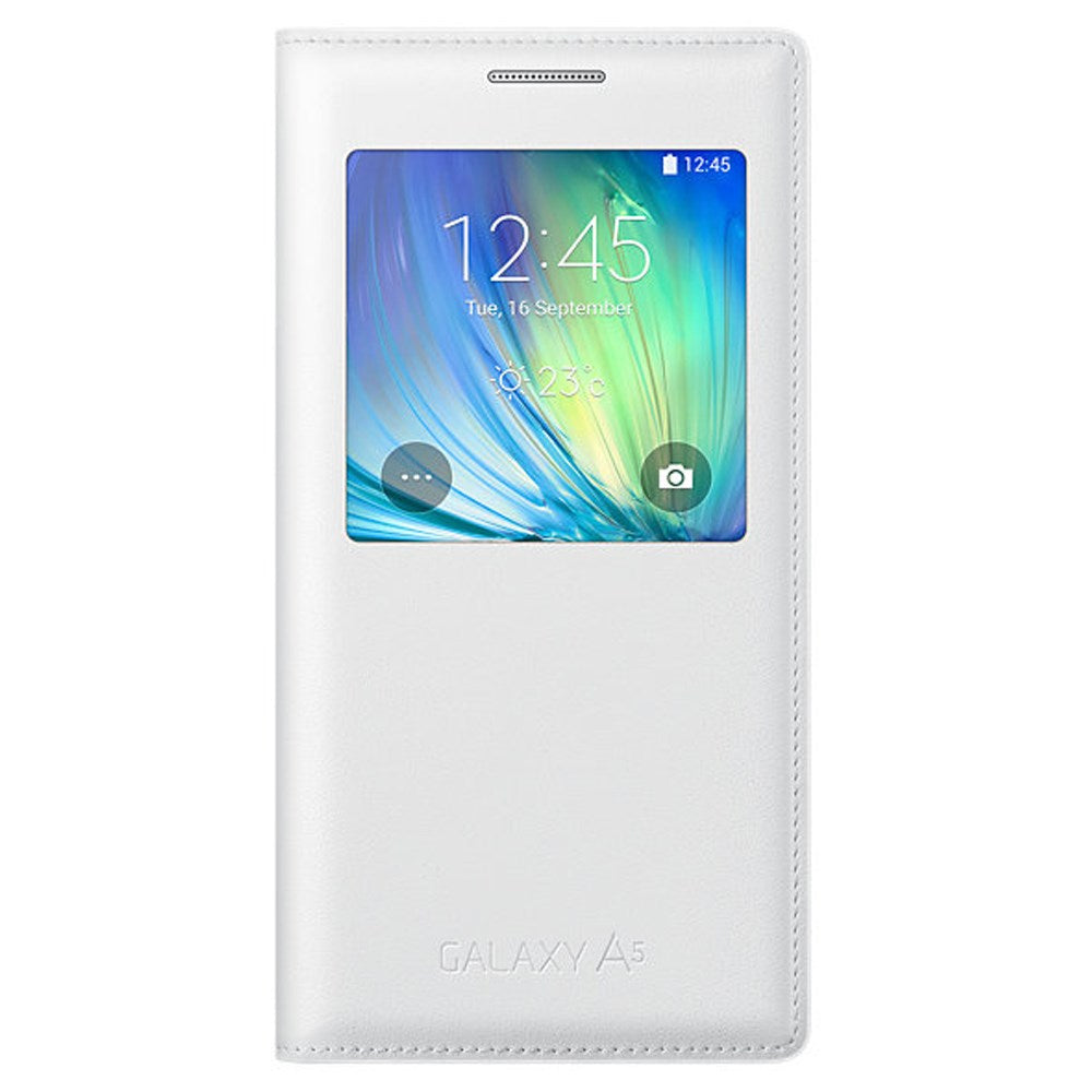 S-View Case for Samsung Galaxy A5 -White