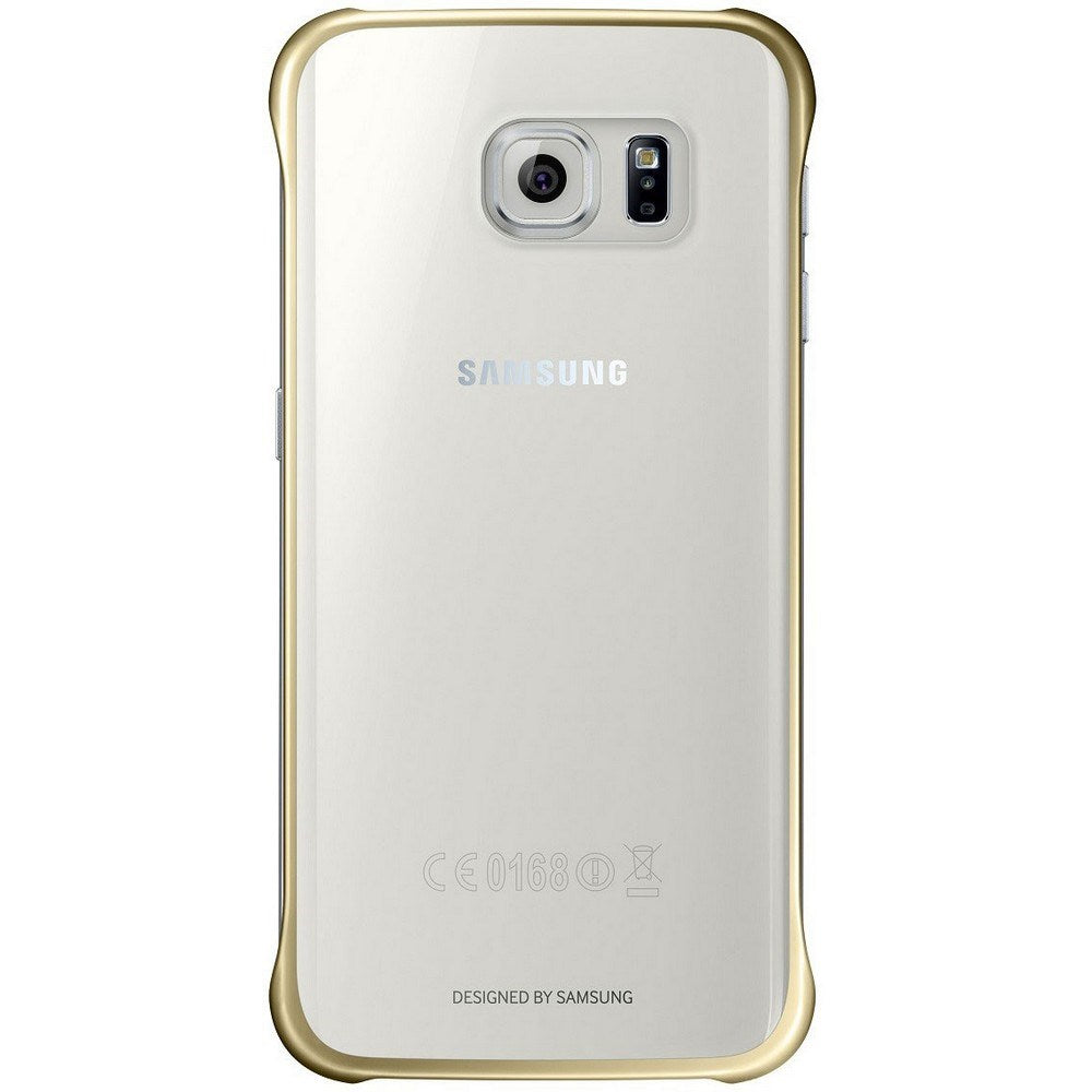 Protective Cover For Samsung Galaxy S6 Edge -Gold