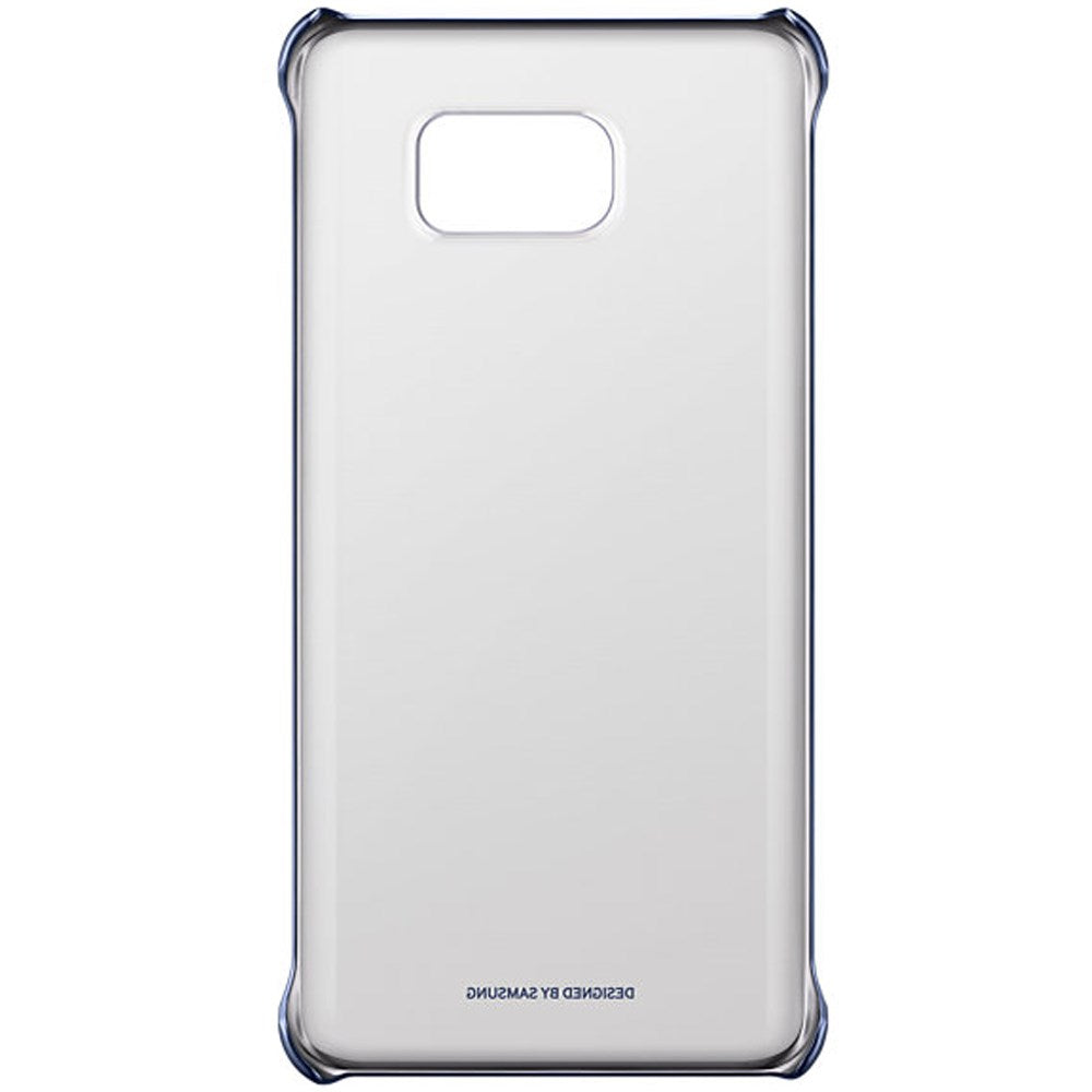 Clear Back Case For Samsung Galaxy Note 5  -Black
