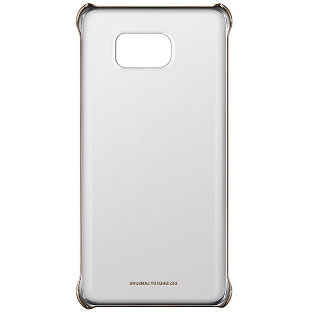 Clear Back Case For Samsung Galaxy Note5  -Gold