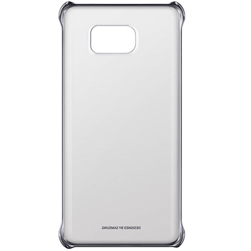 Clear Back Case For Samsung Galaxy Note5  -Silver