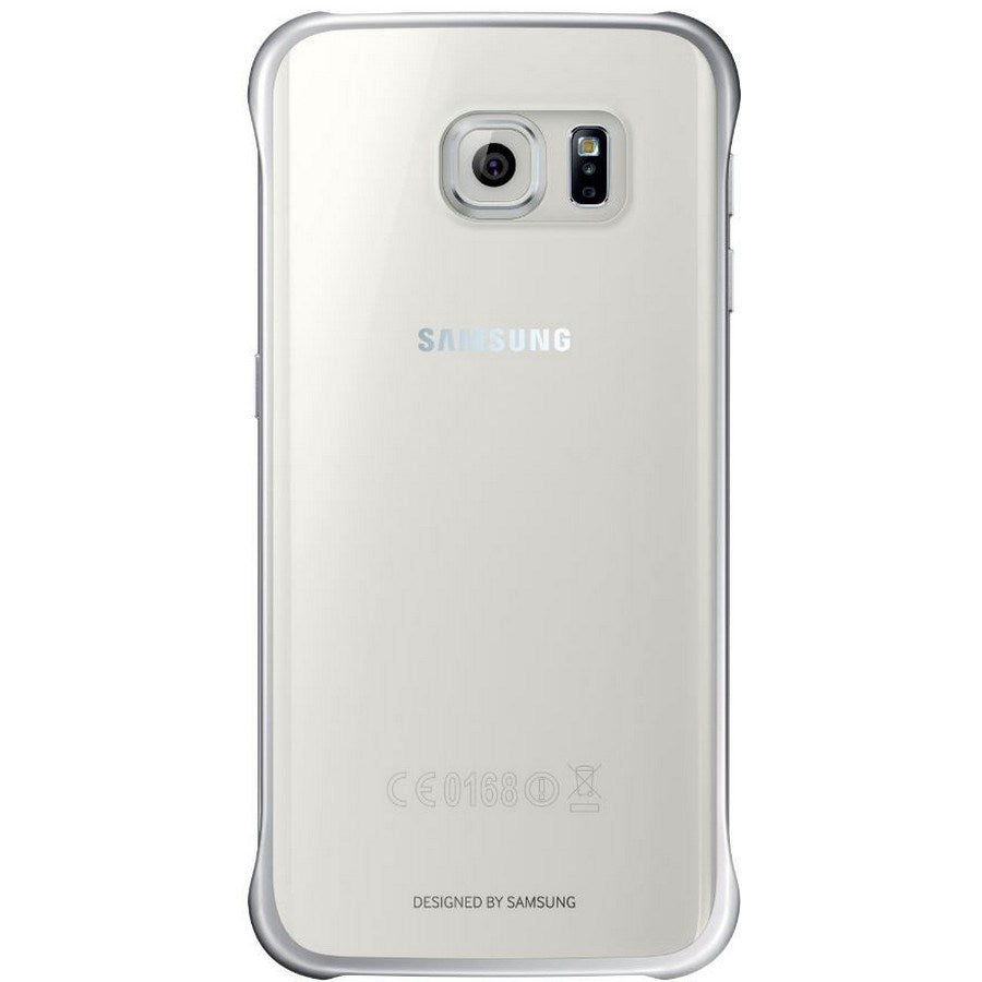 Protective Cover for Samsung Galaxy S6 -Silver