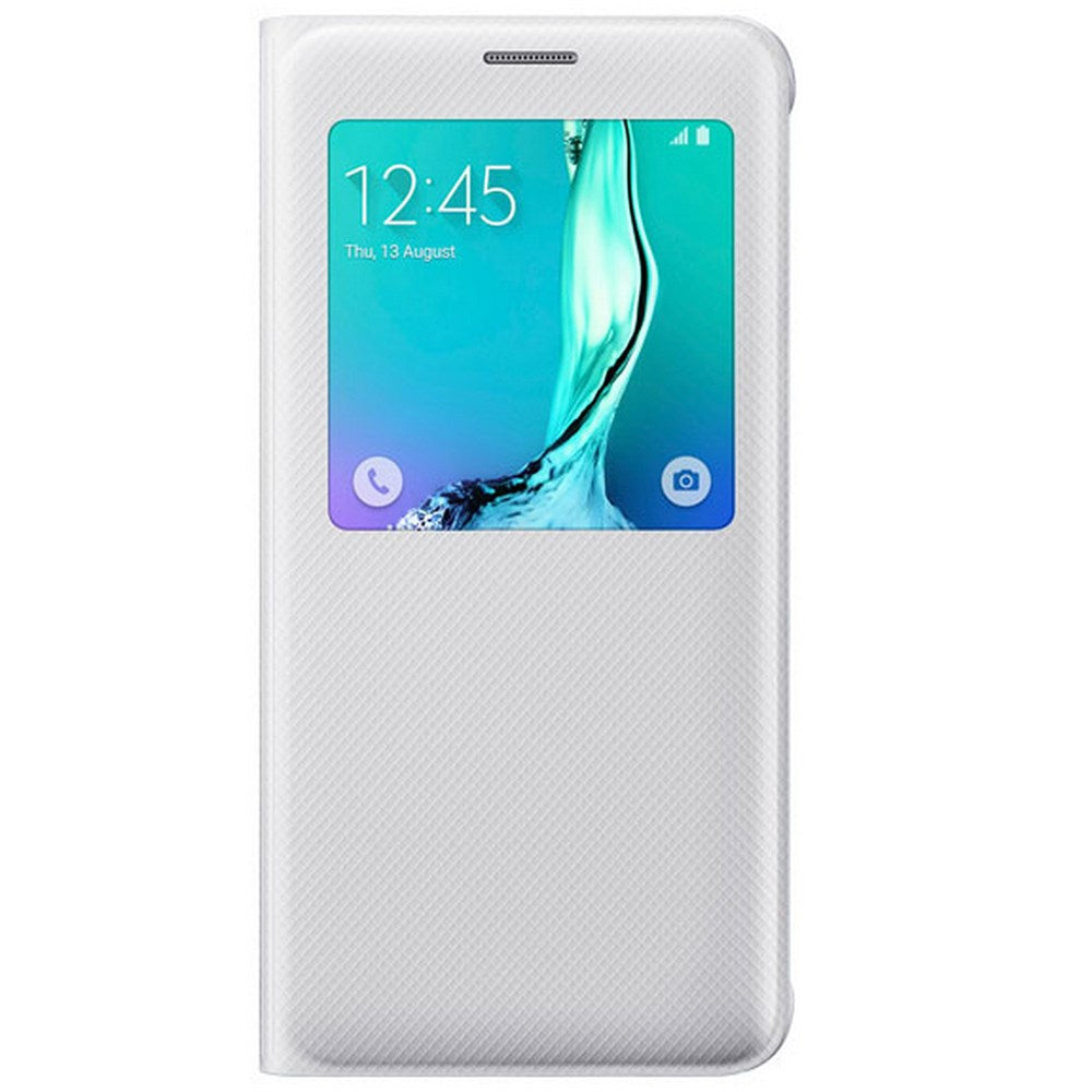 S-View Case White for Samsung Galaxy S6 Edge+
