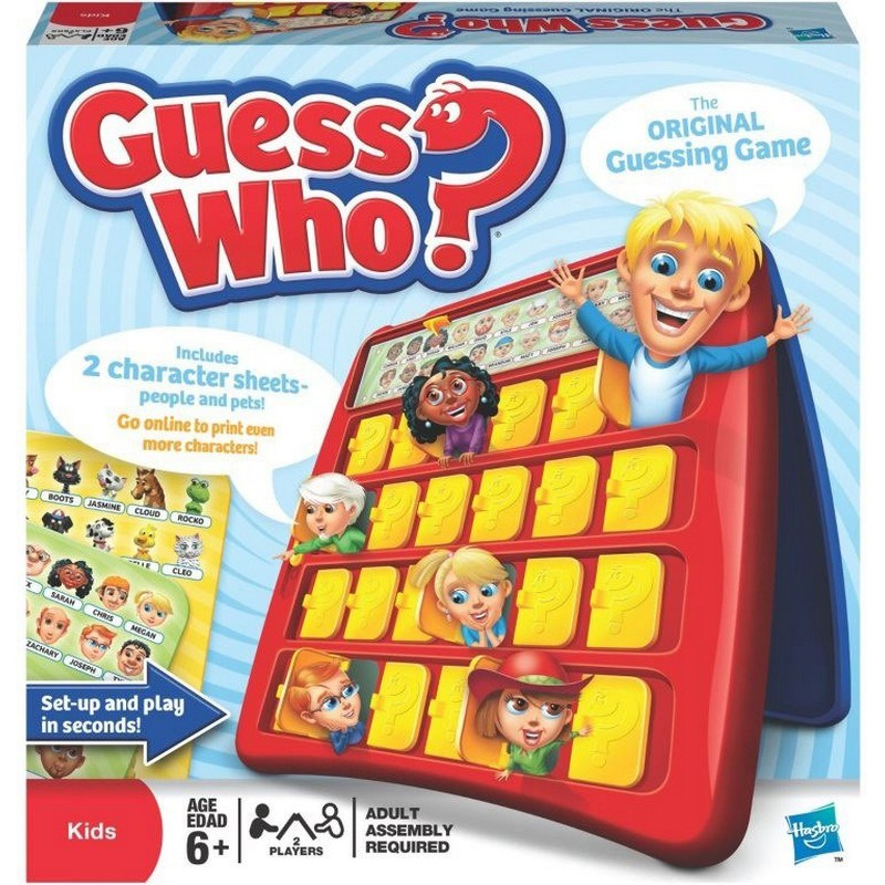 Hasbro Guess Who Guessing game