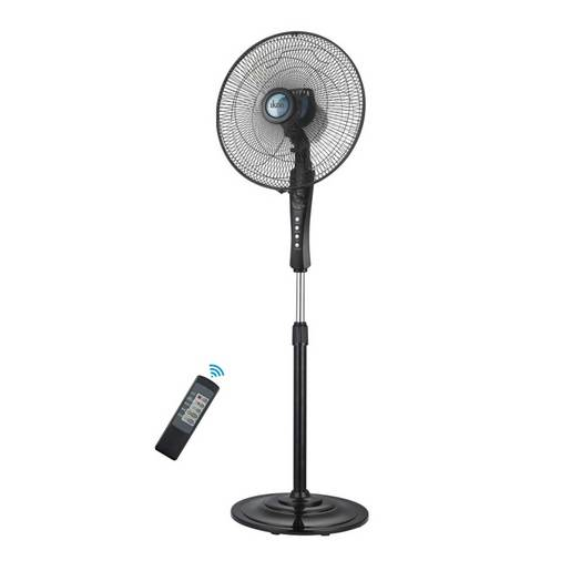 "Ikon Pedestal Fan With Remote IK1607ER 16"" 60W"