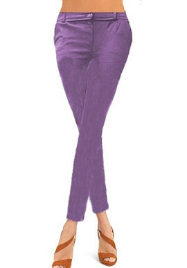 Light Purple Coloured Skinny Jeggings