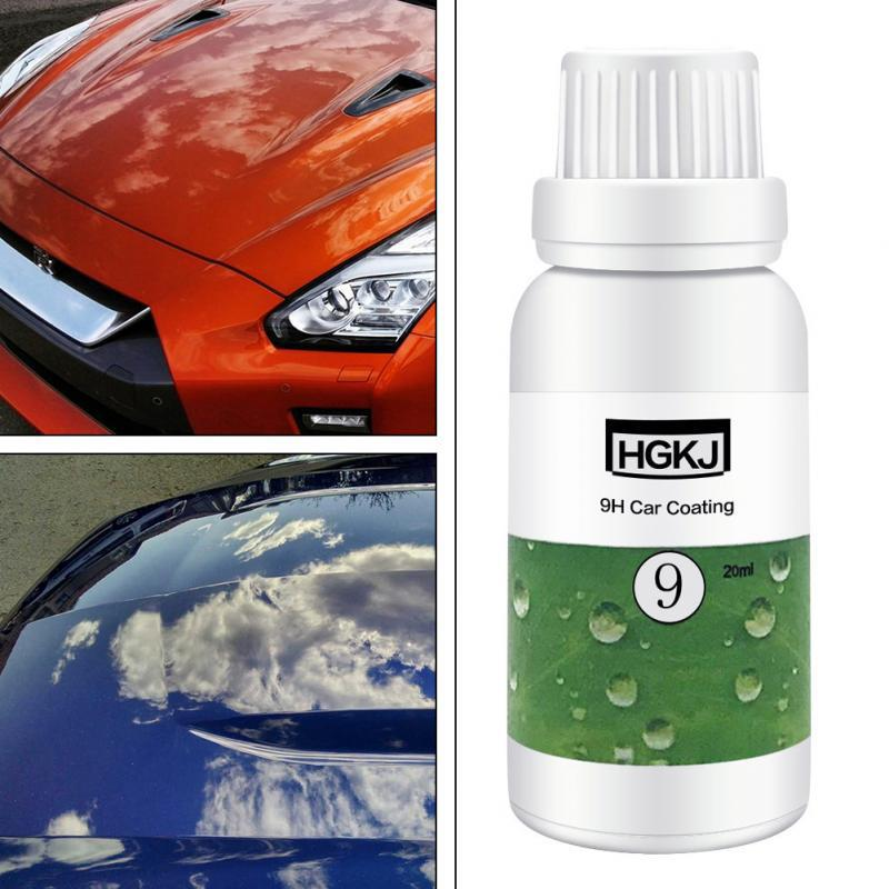 LumiParty HGKJ 9H Car Coating Paint Protecter Auto Maintenance Accessories Waterproof Rainproof Nano Hydrophobic Coating r10