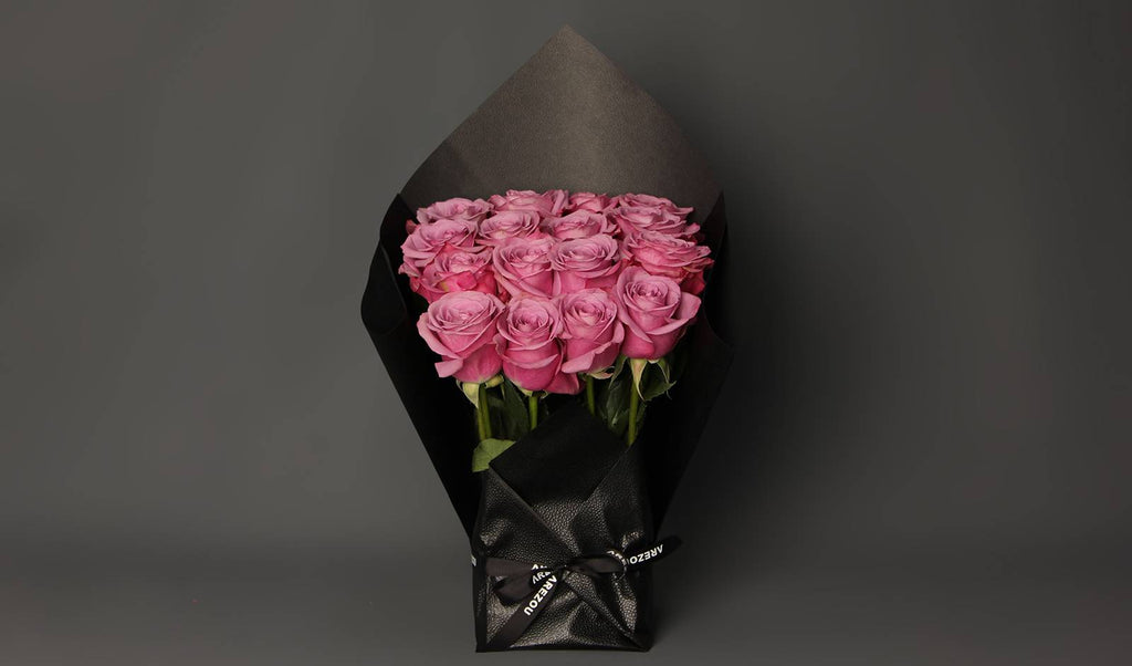 Mother's Day Flower Gift - roses bouquet in square shape