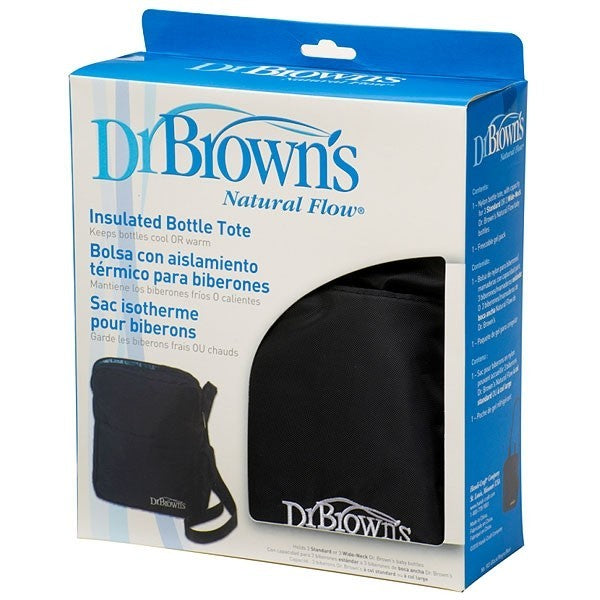 Dr. Brown's Insulated Bottle Tote-Black