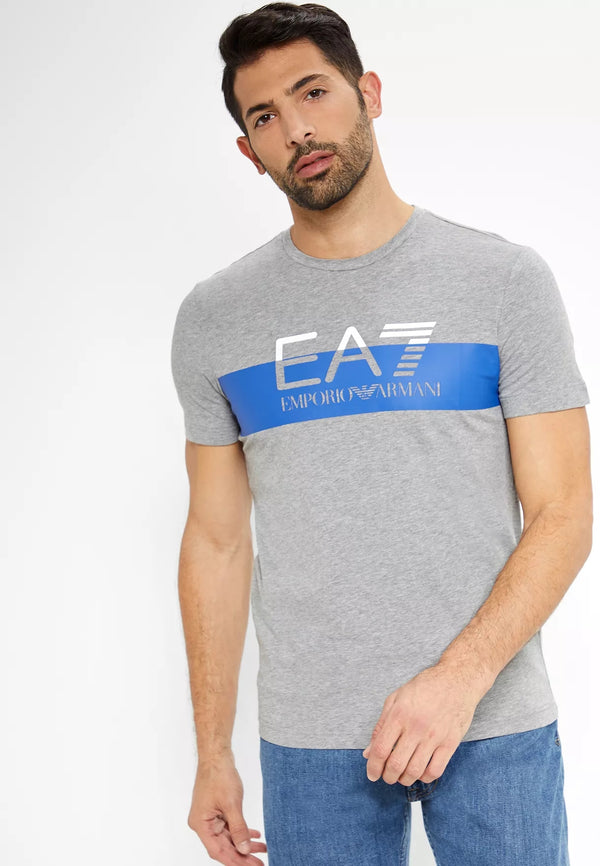 EA7 EMPORIO ARMANI 7 Colours Crew Neck T-Shirt
