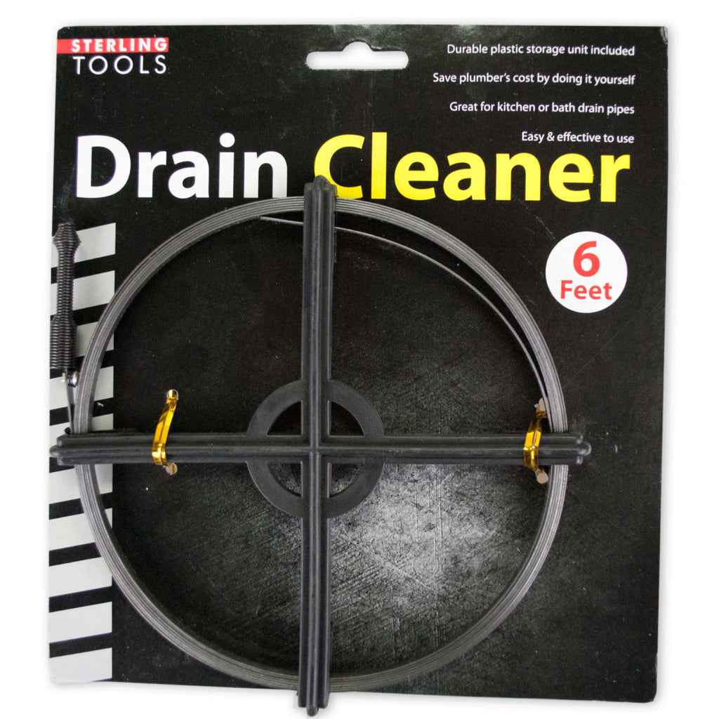 Drain Cleaner with Storage Unit
