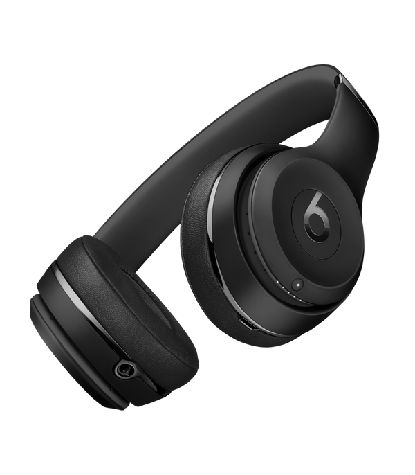 Apple Beats Solo3 Wireless On-Ear Headphones - Black