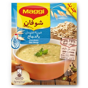 Maggi Chicken Oat Soup 65g x 12 Pieces