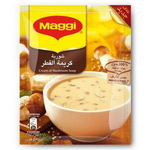 Maggi Cream Of Mushroom Soup 68g x 12 Pieces