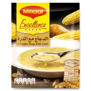 Maggi Excellence Chicken Soup With Corn 47g x 10 Pieces