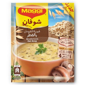 Maggi Oat with Mushroom Soup 65g x 12 Pieces
