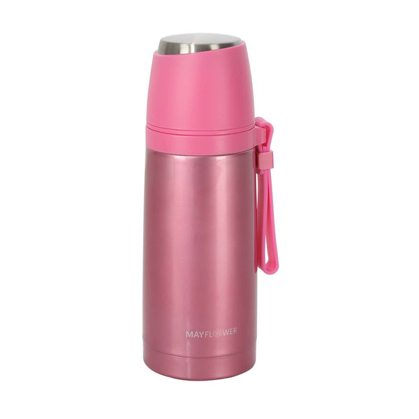 Mayflower Double Wall Bottle Flask 350ml Rose