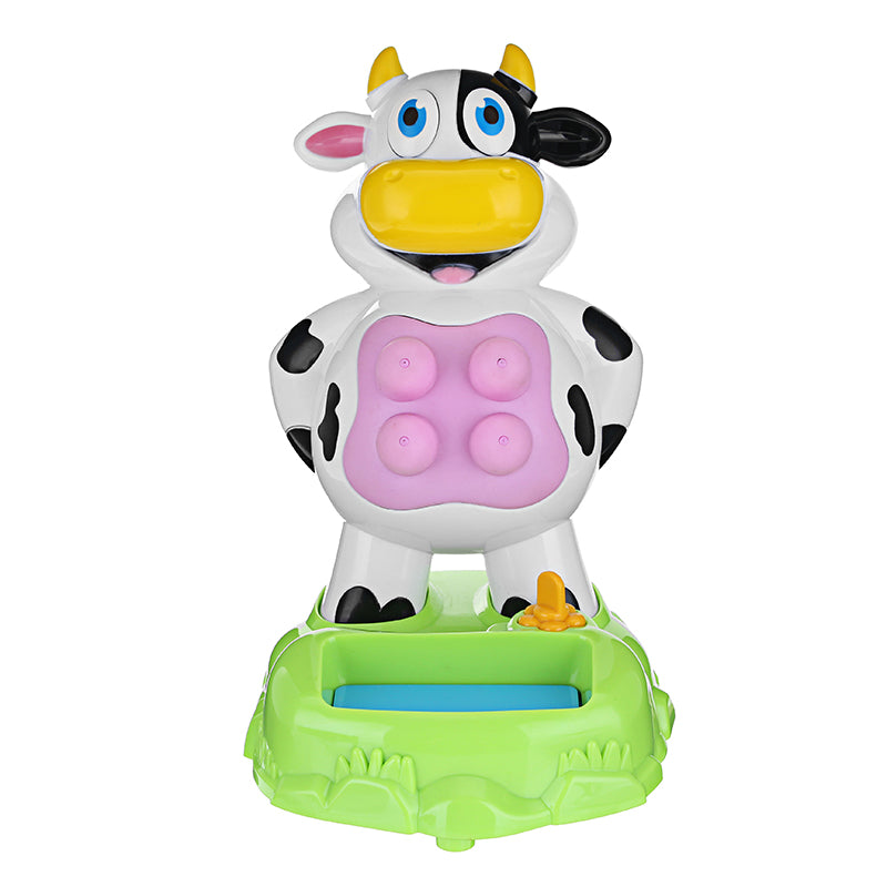 Milk Cow Spray Water Games With Sound For Kids Families Desktop Fun Gadgets Anti Stress Toys
