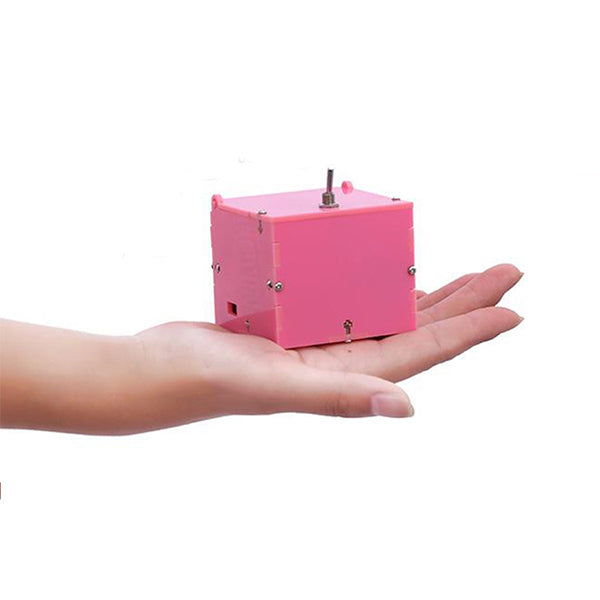 Mini Minimalist Useless Box Rapidly Response 14 Modes Rechargeable Battery De-Stress Toys Office Desk Decor