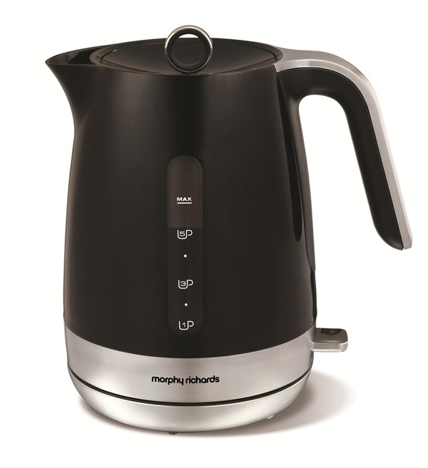 Morphy Richards Chrome Plastic Kettle Premuim
