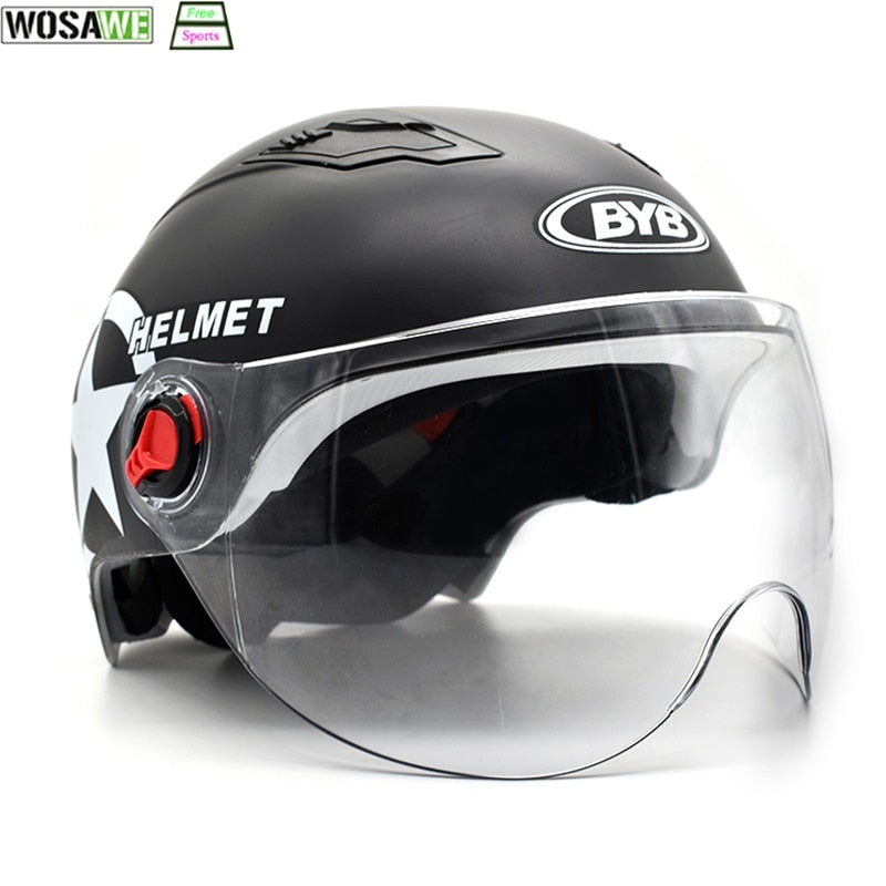 Motorcycle Helmet Safety Head Protection Gear Motocross Helmet moto Motorbike Scooter Helmet Flip Up Windproof Face Mask