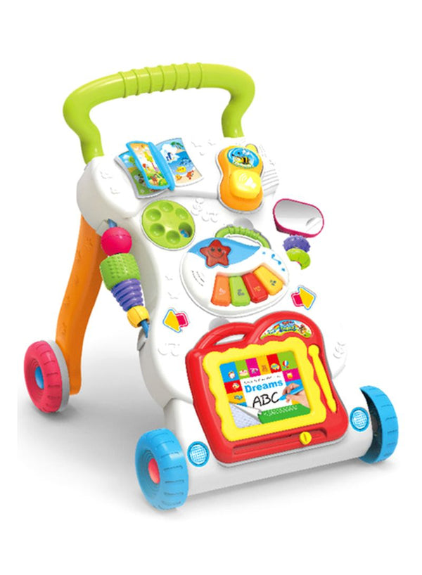 Sit And Stand Learning Stroller Walker