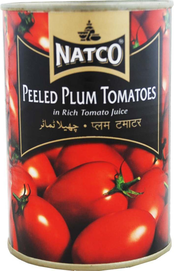 NATCO WHOLE PEELED TOMATO 4 X 400 GM