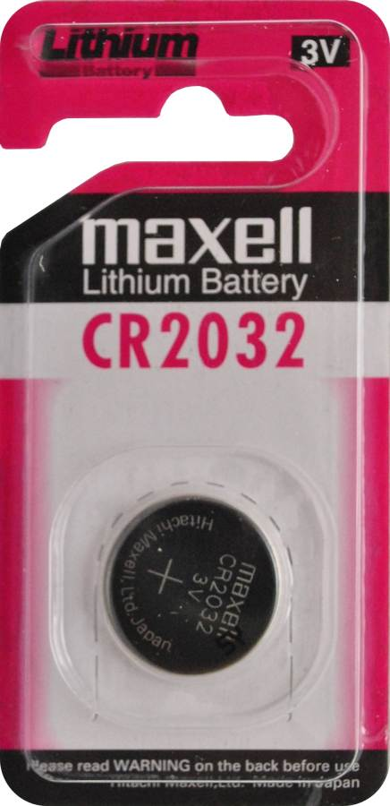Maxell CR2032 3V Lithium Coin Battery   1PC