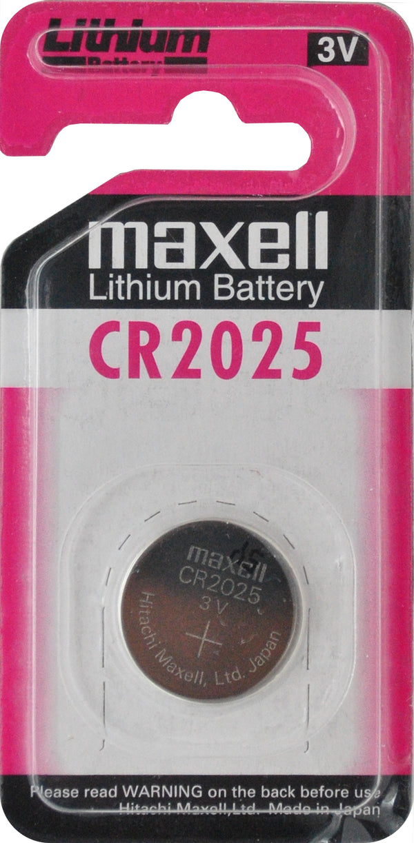 Maxell CR2025 3V Lithium Coin Battery  1PC