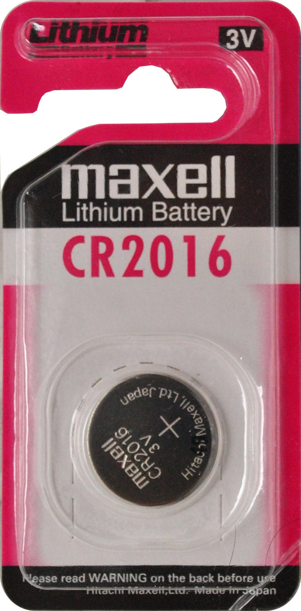 Maxell CR2016 3V Lithium Coin Battery  1PC