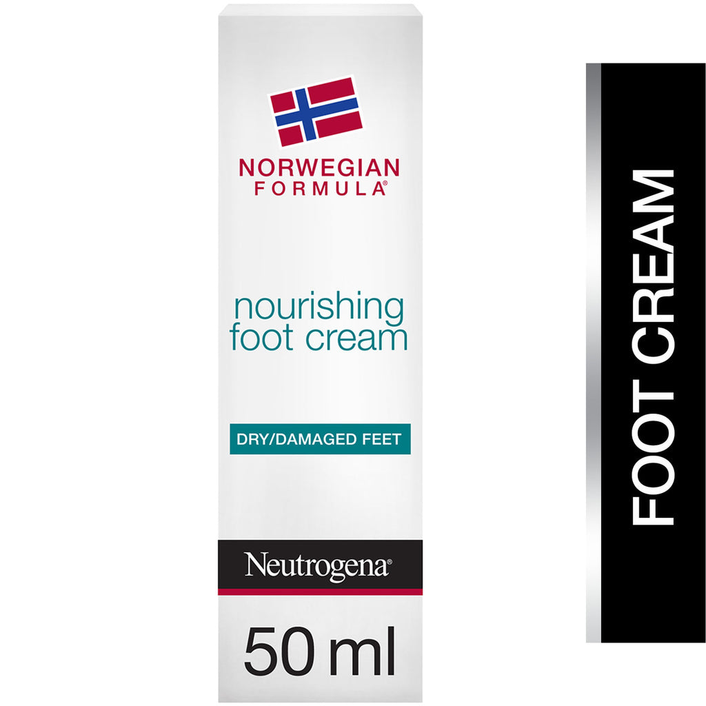 Neutrogena Foot Cream Norwegian Formula Nourishing Dry & Damaged Feet 50ml
