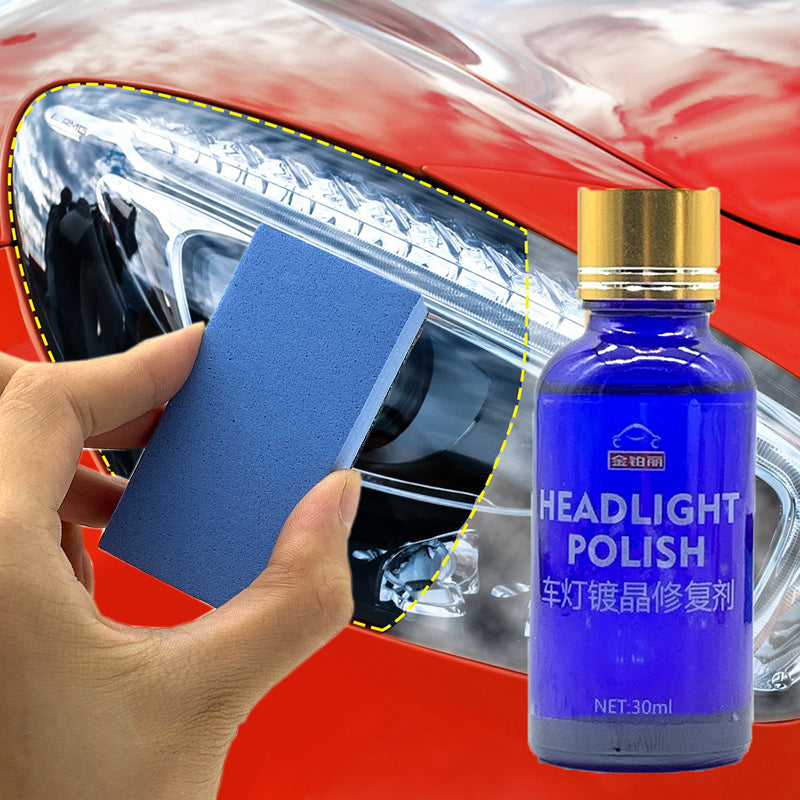 News 30ML Car Headlight Repair Coating Solution Repair Kit Oxidation Rearview Coating Headlight Polishing Anti-scratch Liquid