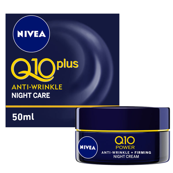 Nivea Anti Wrinkle Night Care Q10 Plus 50ml
