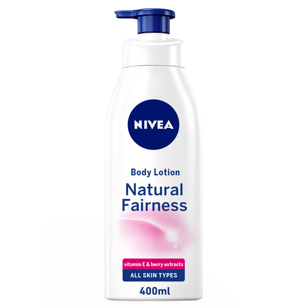 Nivea Body Care Body Lotion Natural Fairness Dry Skin 400ml