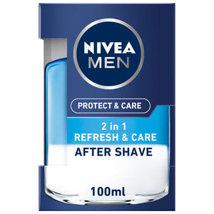 Nivea Men After Shave Lotion 2 In 1 Protect & Care 100ml