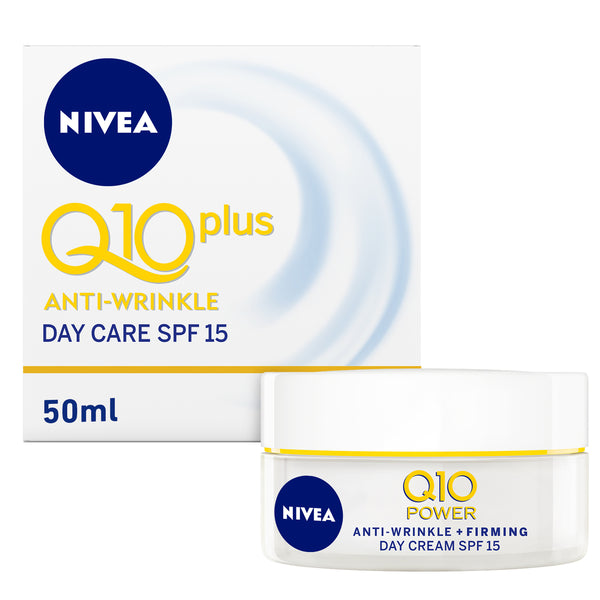 Nivea Q10 Plus Anti Wrinkle Day Care SPF 15 50 ml