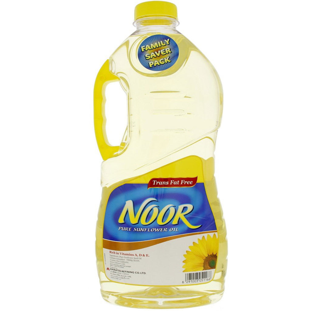 Noor Pure Sunflower Oil 3Litre