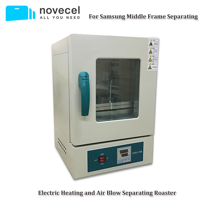 Novecel Electric Heating and Air Blow Separating Roaster for Samsung Middle  Frame 100% test before shipping