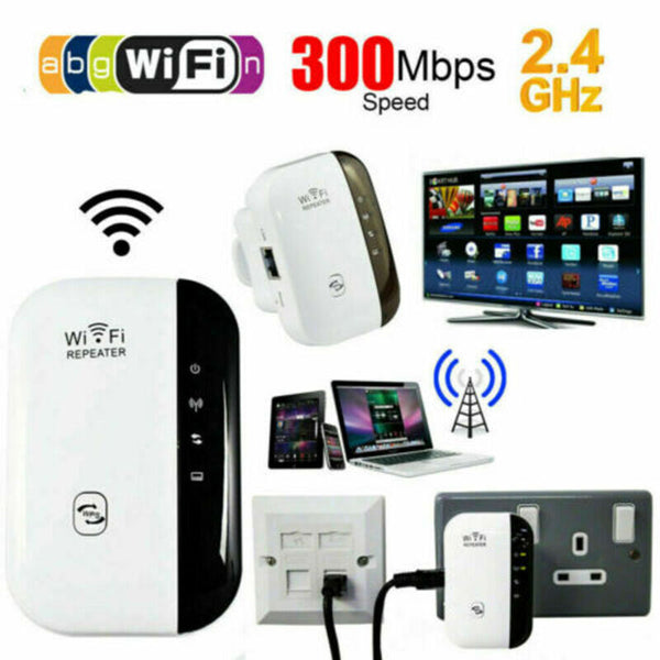 Nwe WiFi Blast مكرر لاسلكي Wi-Fi Range Extender 300Mbps WiFi Repeater Amplifier 3E26