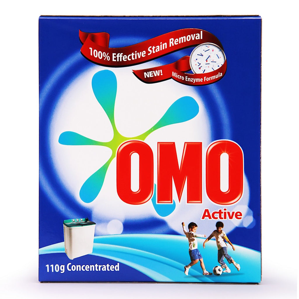 OMO Active Fabric Cleaning Powder 110 g