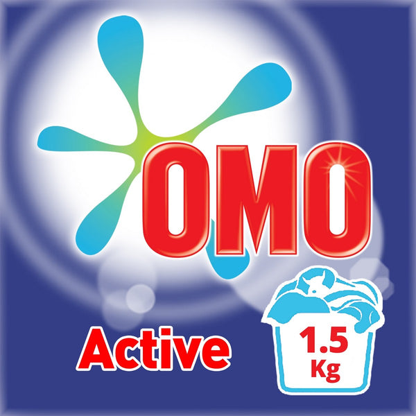 OMO Active Fabric Cleaning Powder 1.5kg