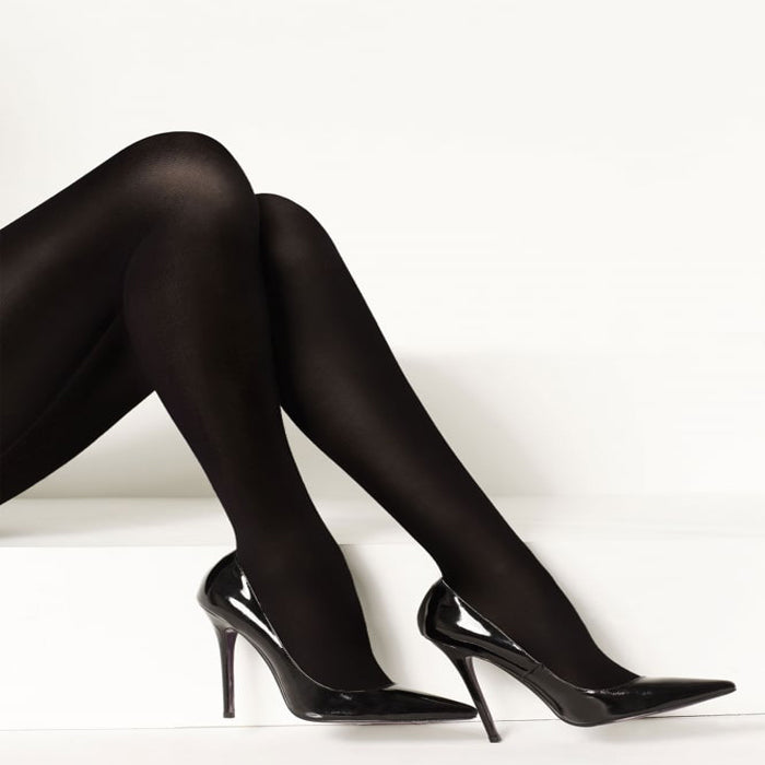 ON THE GO! Ultra Sheer Queen Off Black Pantyhose