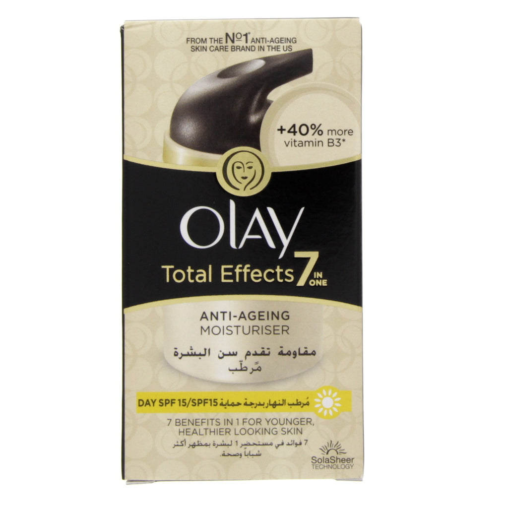 Olay Total Effects 7 In 1 Anti Ageing Moisturizer Day SPF 15 50ml