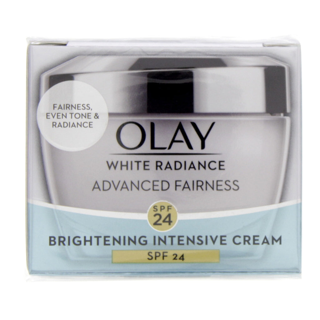 Olay White Radiance Fairness Protective Cream SPF 24 UVA/UVB 50g