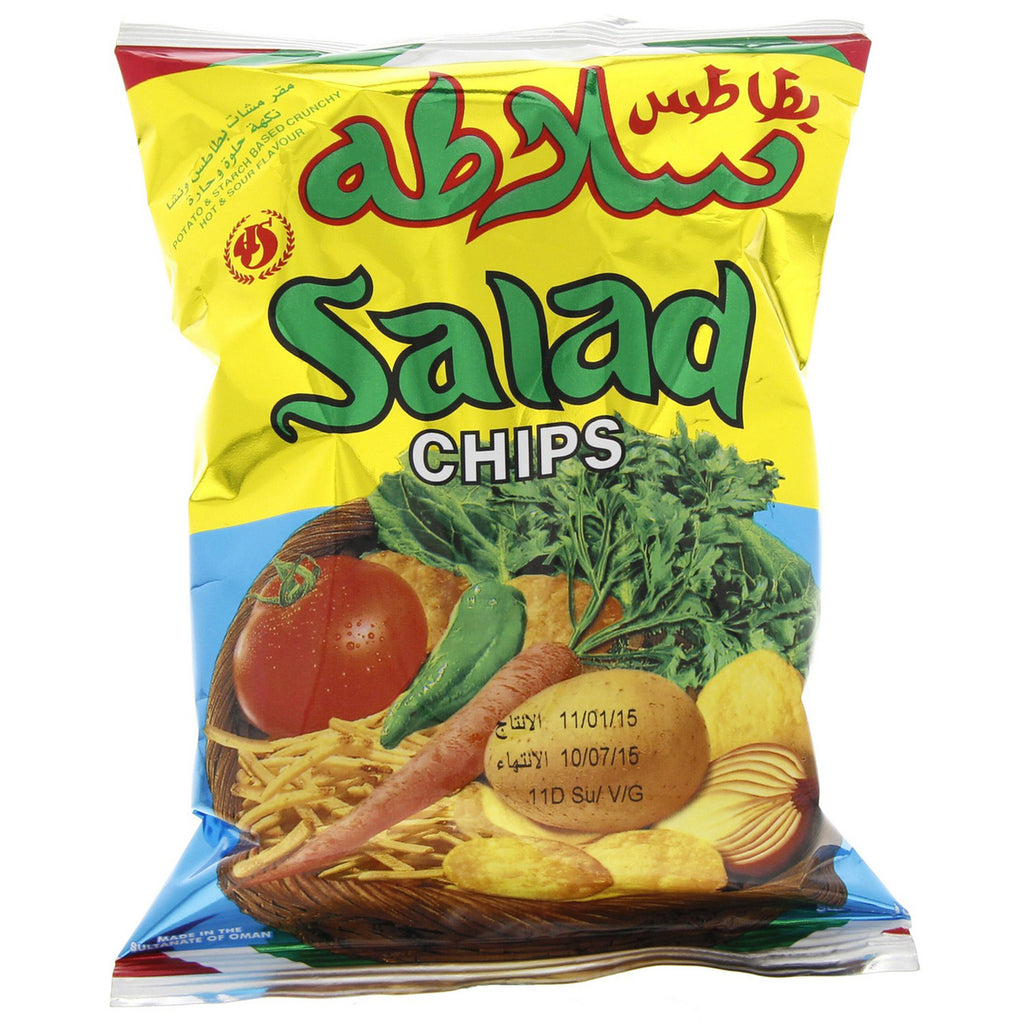 Oman Salad Chips 15g x 25 Pieces