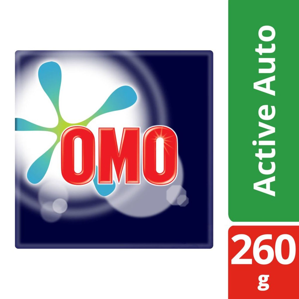 Omo Active Auto Washing Powder Front Load Concentrated 260g