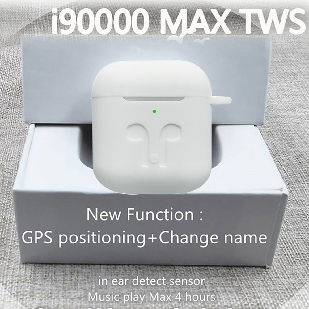 Original i90000 Max TWS Air 2 change name location Bluetooth headset in-ear sensor PKi90000Pro i1000 i2000 i9000X i5000 i9000TWS